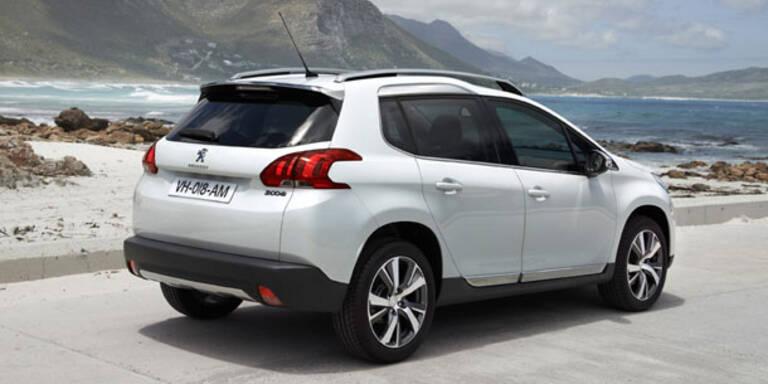 Peugeot 2008 startet in Österreich