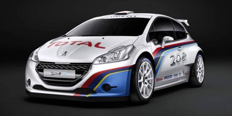 Peugeot zeigt den 208 TYPE R5
