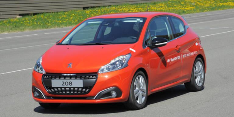 Serien-Peugeot-208 brauchte nur 2,0l/100km