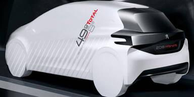 Peugeot stellt Hybrid-Studie 208 Fe vor