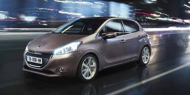Peugeot: 208-Start und Facelift für den 107