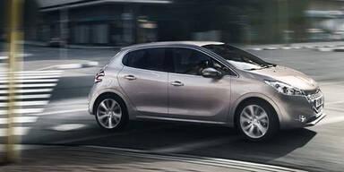 Österreich-Start für den Peugeot 208