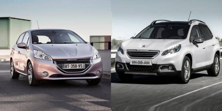 Peugeot 2008 und 208 sind echte Bestseller