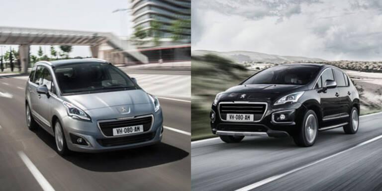 Facelift für Peugeot 3008 und 5008