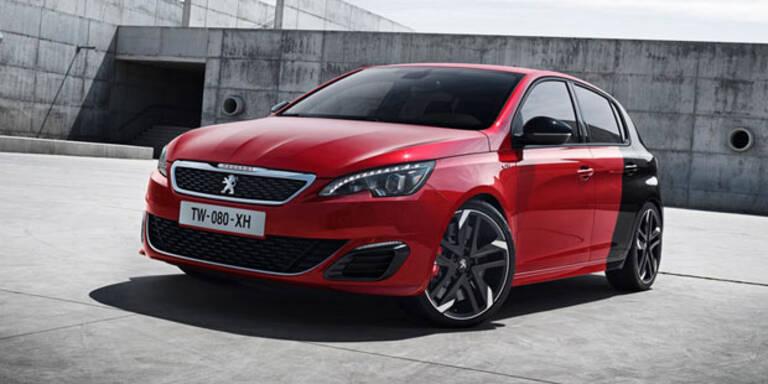 Peugeot bringt den 308 GTi mit 270 PS