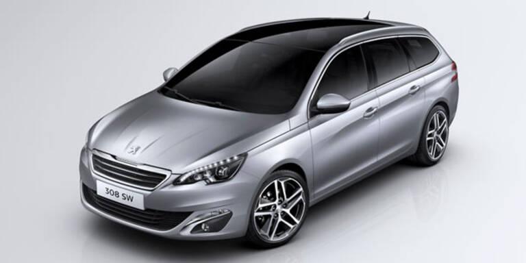 So kommt der neue Peugeot 308 SW