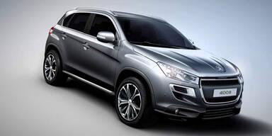 Weltpremiere des Peugeot 4008