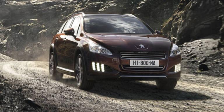 Verkaufsstart für den Peugeot 508 RXH