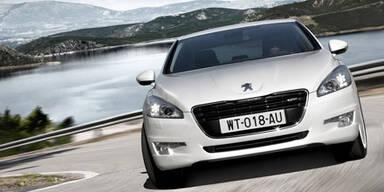 Österreich-Preise des Peugeot 508