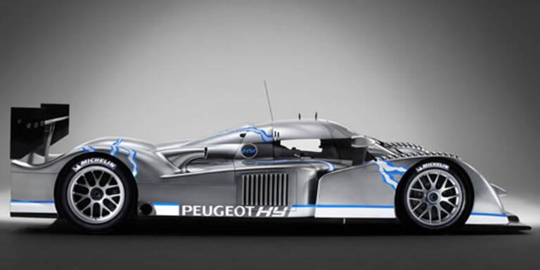 Peugeot will LeMans mit Hybrid-Rennwagen gewinnen