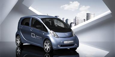 So sieht der französische Zwilling Peugeot iOn aus. Auch er kostet im Leasing rund 500 Euro pro Monat.
