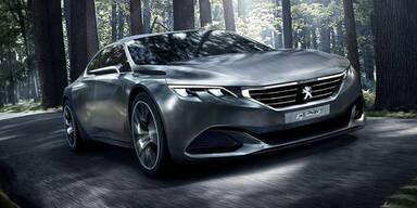 Peugeot zeigt den spektakulären Exalt