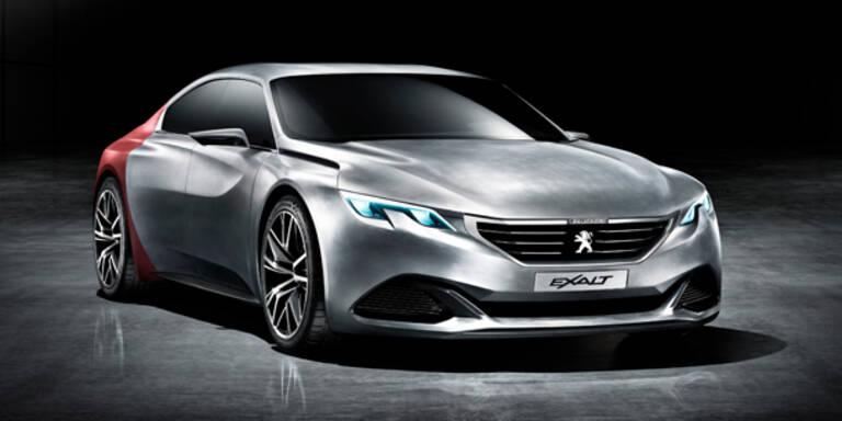"""Peugeot zeigt sportliche Studie """"Exalt"""""""