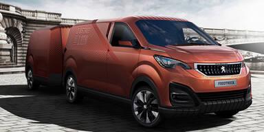 Peugeot zeigt einen coolen Foodtruck