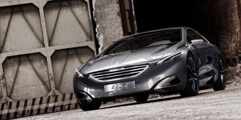 Peugeot HX1 - atemberaubender Hybrid-Van