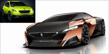 Peugeot Onyx und 2008 Concept in Paris