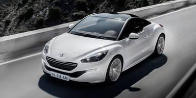 Peugeot RCZ: Facelift und heiße Studie