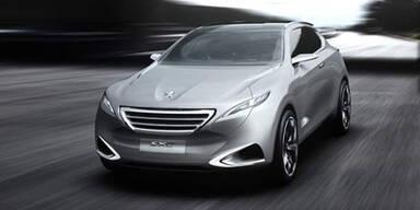 Peugeot stellt das Concept-Car SxC vor