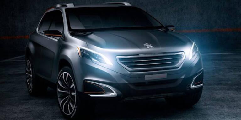 Peugeot zeigt neues Kompakt-SUV
