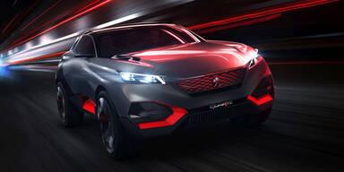 Peugeot stellt 500 PS starken Quartz vor