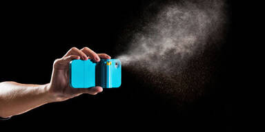 iPhone-Hülle mit integriertem Pfefferspray