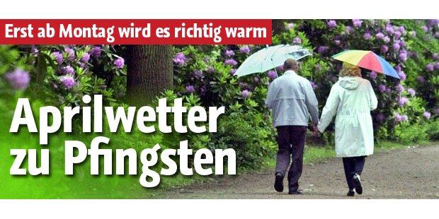 So wird das Pfingst-Wetter