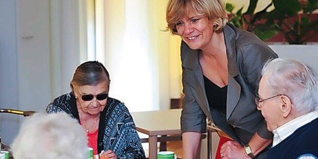 Vorarlberg erhöht Pflegegeld-Zuschuss