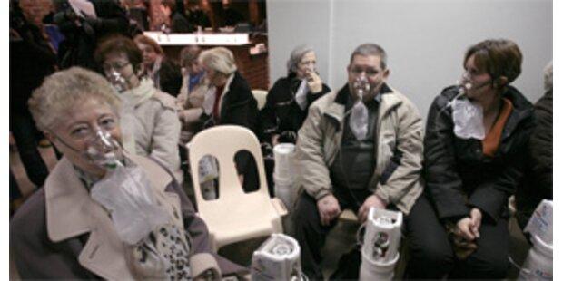 Konzertbesucher erlitten Rauchvergiftung