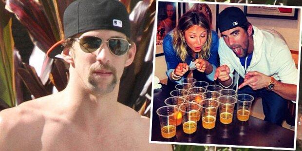Schwimm-Star Phelps ist wieder Single...