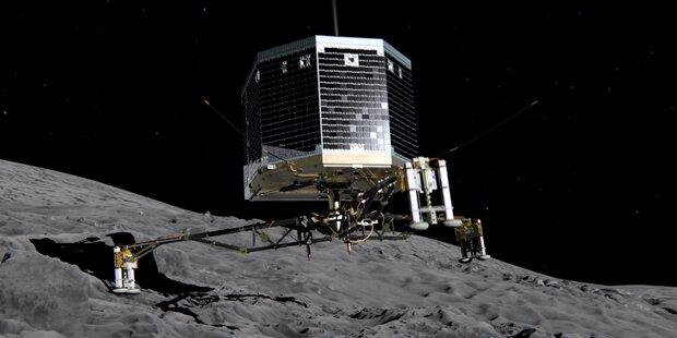 Erstes Foto vom Kometen-Lander Philae