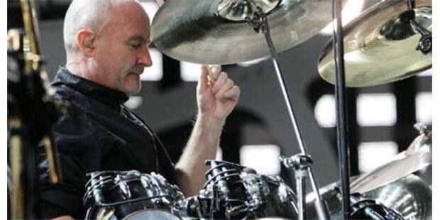 Phil kann nicht mehr Schlagzeug spielen