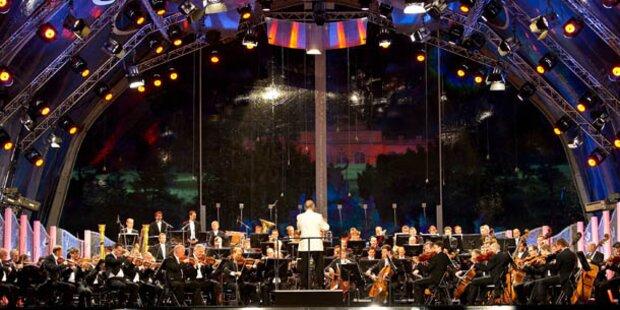 Zehntes Sommernachts- Konzert in Wien