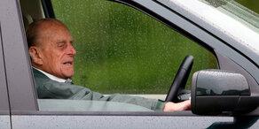 Nach Unfall: Sorge um Prinz Philip