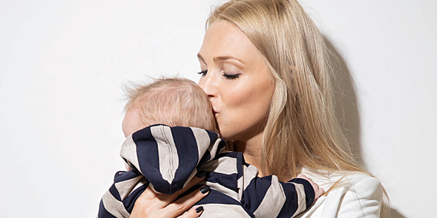 Philippa Strache Baby Henrik