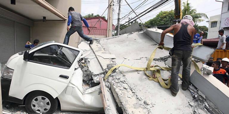 Philippinen: Mehr als 80 Tote bei Erdbeben