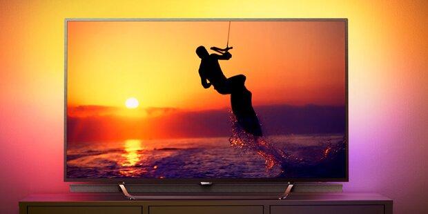 Philips bringt neue 4K-Top-Fernseher