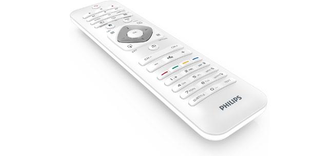 philips smart tvs designline edge mit intelligenter bedienung. Black Bedroom Furniture Sets. Home Design Ideas
