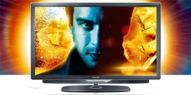 Philips LCD-Fernseher mit 400 Hz und 3D