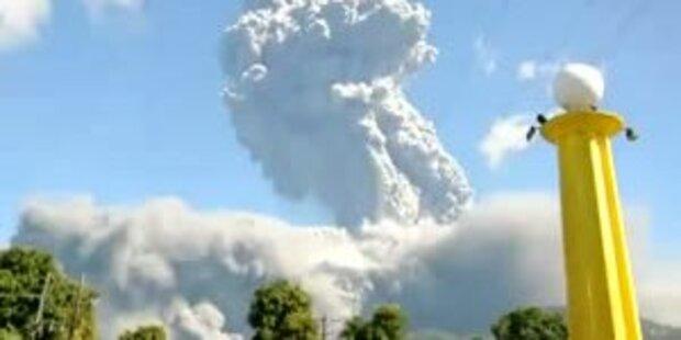 Vulkanausbruch Mount Bulusan