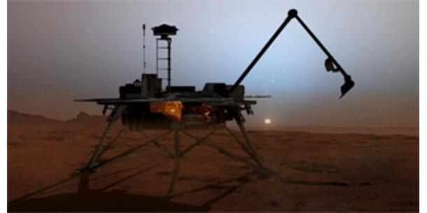 """US-Sonde """"Phoenix"""" erfolgreich am Mars gelandet"""