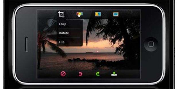 Kostenlose Photoshop-App für das iPhone