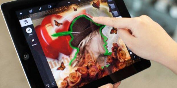 Photoshop Touch für das iPad 2 ist da