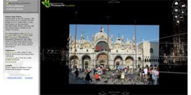 Microsoft baut Welt mit Fotos aus dem Web nach