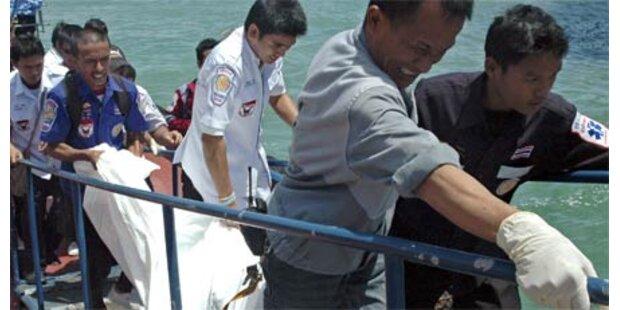 Fünf weitere Leichen bei Phuket geborgen