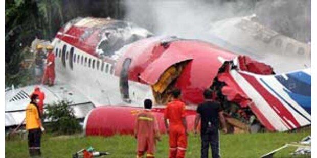 Pilotenfehler ist Unglücksursache in Thailand