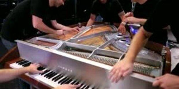 Youtube-Hit: Fünf Pianisten - ein Flügel