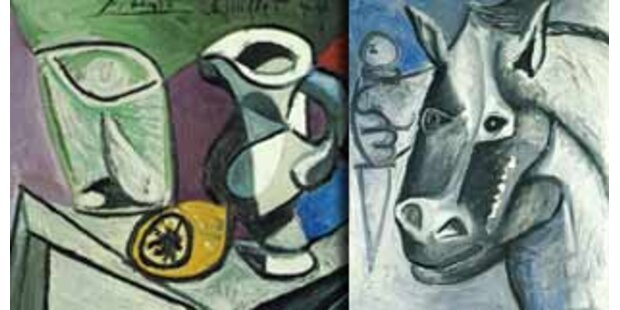 Zwei Picasso-Bilder in der Schweiz gestohlen