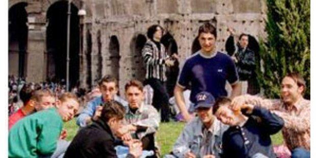 Picknick in historischem Zentrum Roms verboten