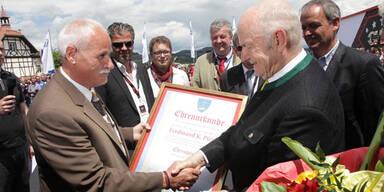 GTI Treffen: Piech ist jetzt Ehrenbürger