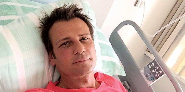 Volker Piesczek schickt Selfie aus Krankenhaus